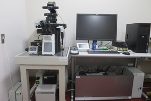 Confocal laser microscope